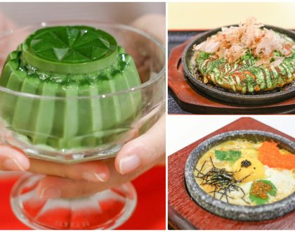 Misato - Impossibly Wobbly Matcha Pudding, Worthy Cha Soba And Okonomiyaki At The Centrepoint