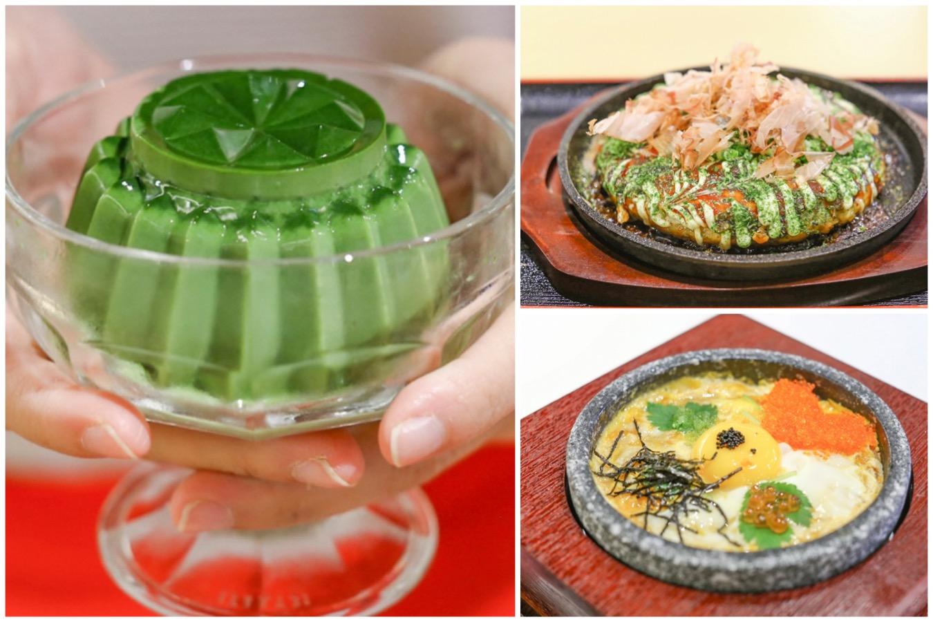 Misato - Impossibly Wobbly Matcha Pudding, Worthy Cha Soba And Okonomiyaki At The Centrepoint