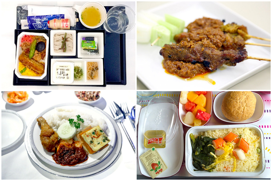 World's Best Airline and Airline Food 2017 – Qatar Airways, Singapore Airlines, ANA Are The Top 3