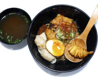 A Noodle Story - Singapore Style Ramen At Amoy That Deserves Our Support, With Michelin Bib Gourmand