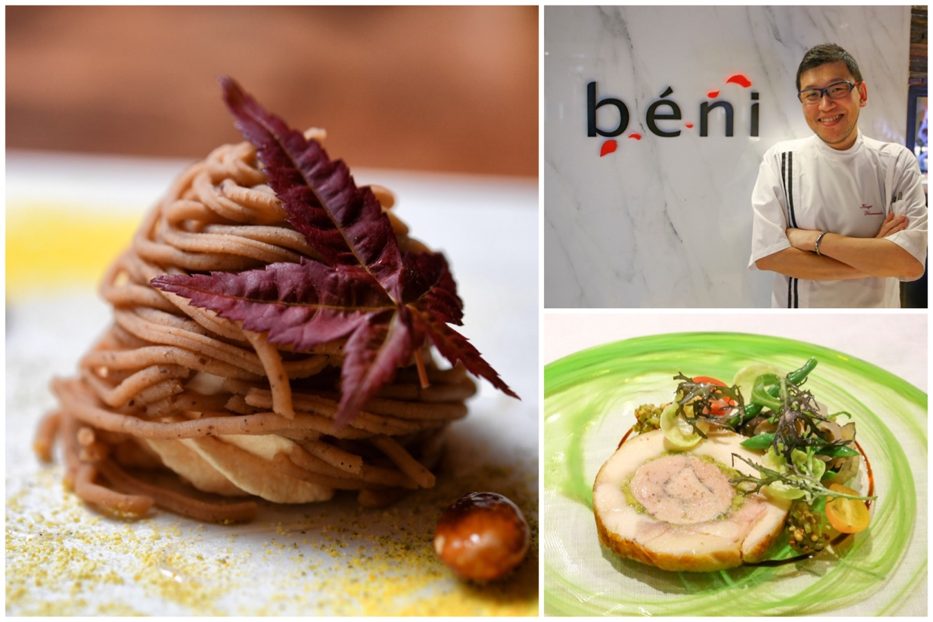 Beni - Japanese-French Cuisine With Chef's Table Experience. 1 Michelin Star
