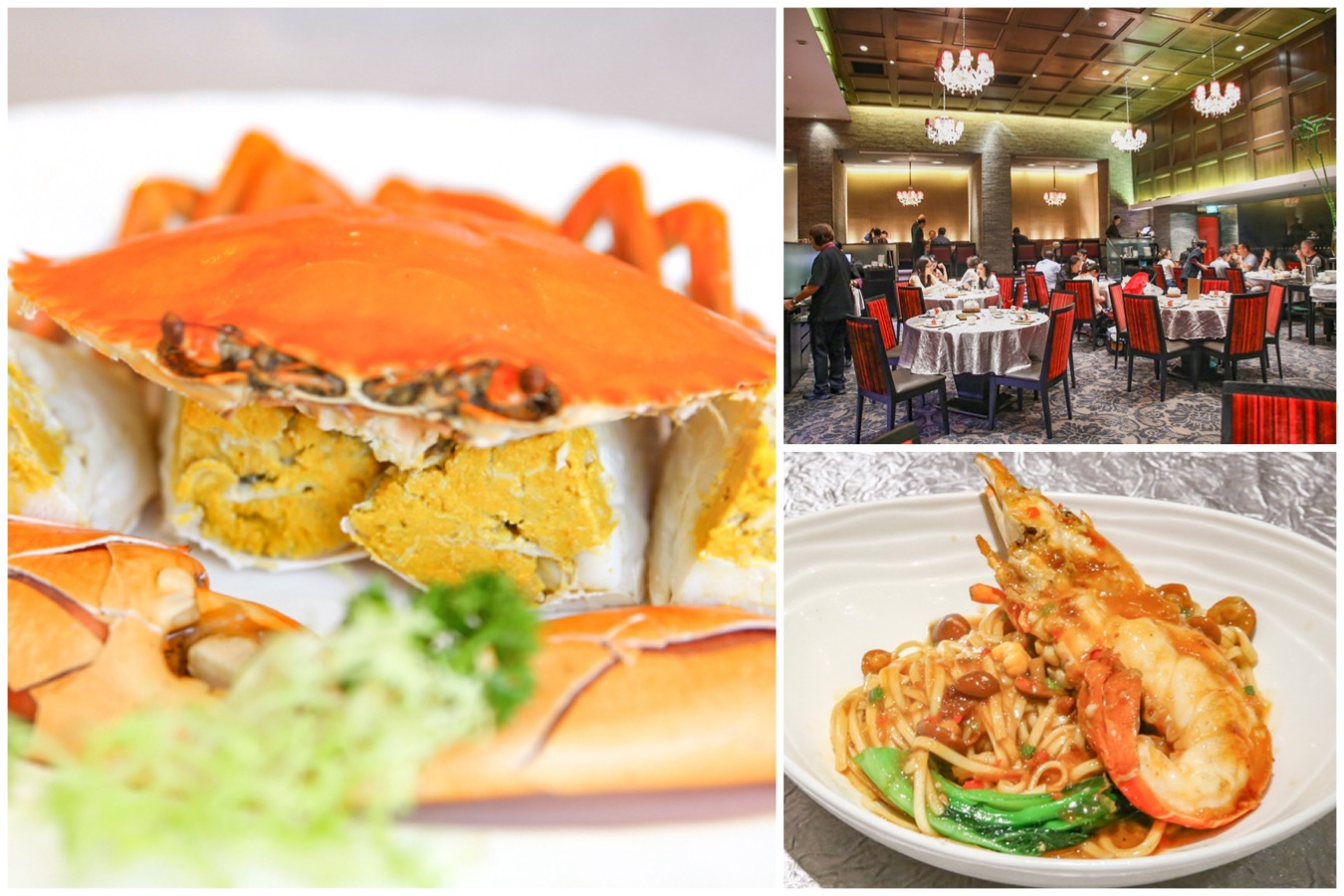 Crystal Jade Golden Palace - Teochew And Cantonese Specialities At Paragon. 1 Michelin Star
