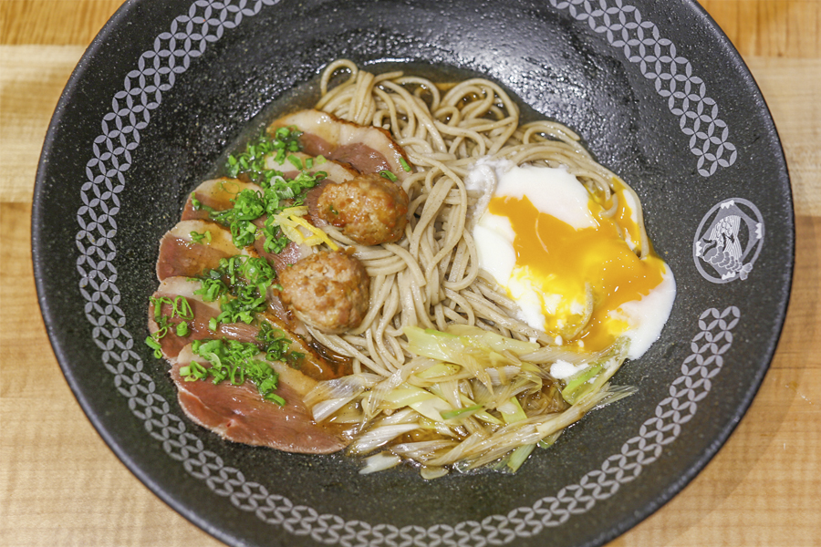 Nadai Fujisoba Ni-Hachi ? Japan?s No 1 Soba Restaurant Opens In Singapore. Go For The Crispy Soba