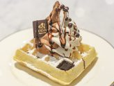 Godiva Chocolatier Café - Opens In Singapore At ION Orchard, Serving Belgium Waffle with Soft Serve