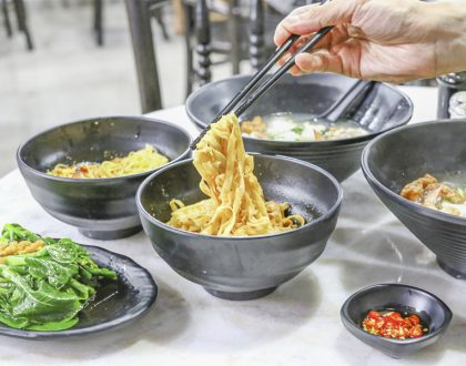 Lao You Xuan Noodle Kitchen - Affordable $4.50 Mee Pok At River Valley, Near Spize