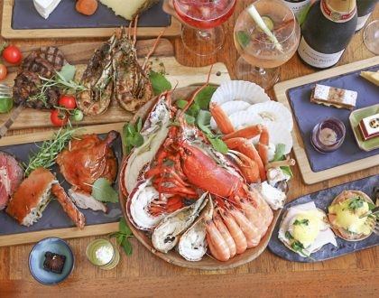 Oscar's – Supercharged Sunday Brunch With Grilled Lobsters & Beef, Lechon & London Duck