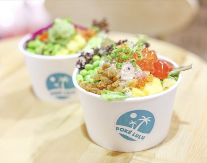 Poke LuLu - Poke Bowl Shop With Free Self-Serve Sauces, At Novena And Oxley Tower