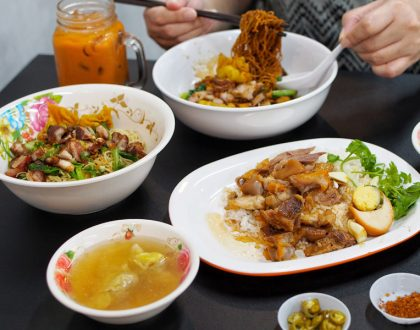 Soi 19 Thai Wanton Mee – Thai Springy Egg Noodles Now at Serangoon In Air-conditioned Cafeteria