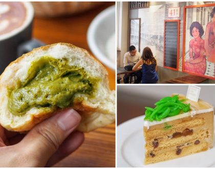 Keong Saik Bakery - Traditional Vibes Meets Contemporary Bakes. Matcha Salted Egg Buns And Black Danish Pastry and
