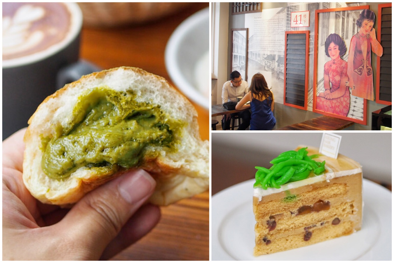Keong Saik Bakery - Traditional Vibes Meets Contemporary Bakes. Matcha Salted Egg Buns And Black Danish Pastry
