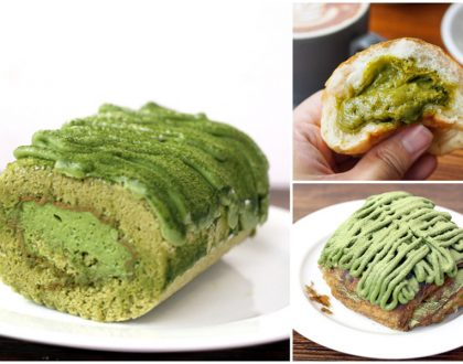 Keong Saik Bakery - Matcha Dirty Breads And Matcha Swiss Rolls. Traditional Vibes Meets Contemporary Bakes