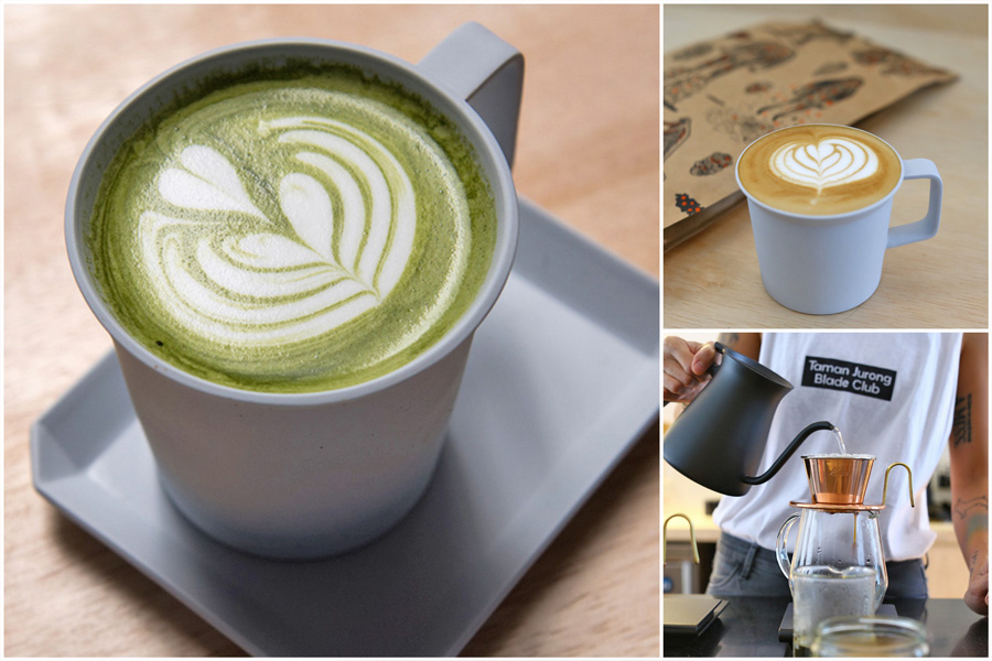 Kurasu Singapore -  Japanese Specialty Cafe From Kyoto At Odeon Towers. One Of The Best Matcha Lattes Around