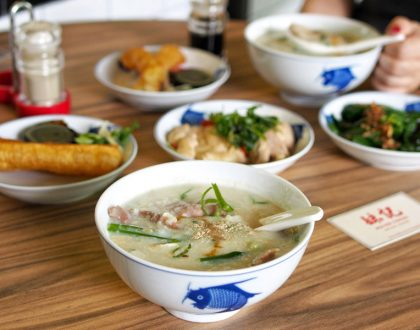 Mui Kee Congee Singapore - Famous Hong Kong Congee Arrives At Shaw Centre. Silky Smooth With Power Wok Hei