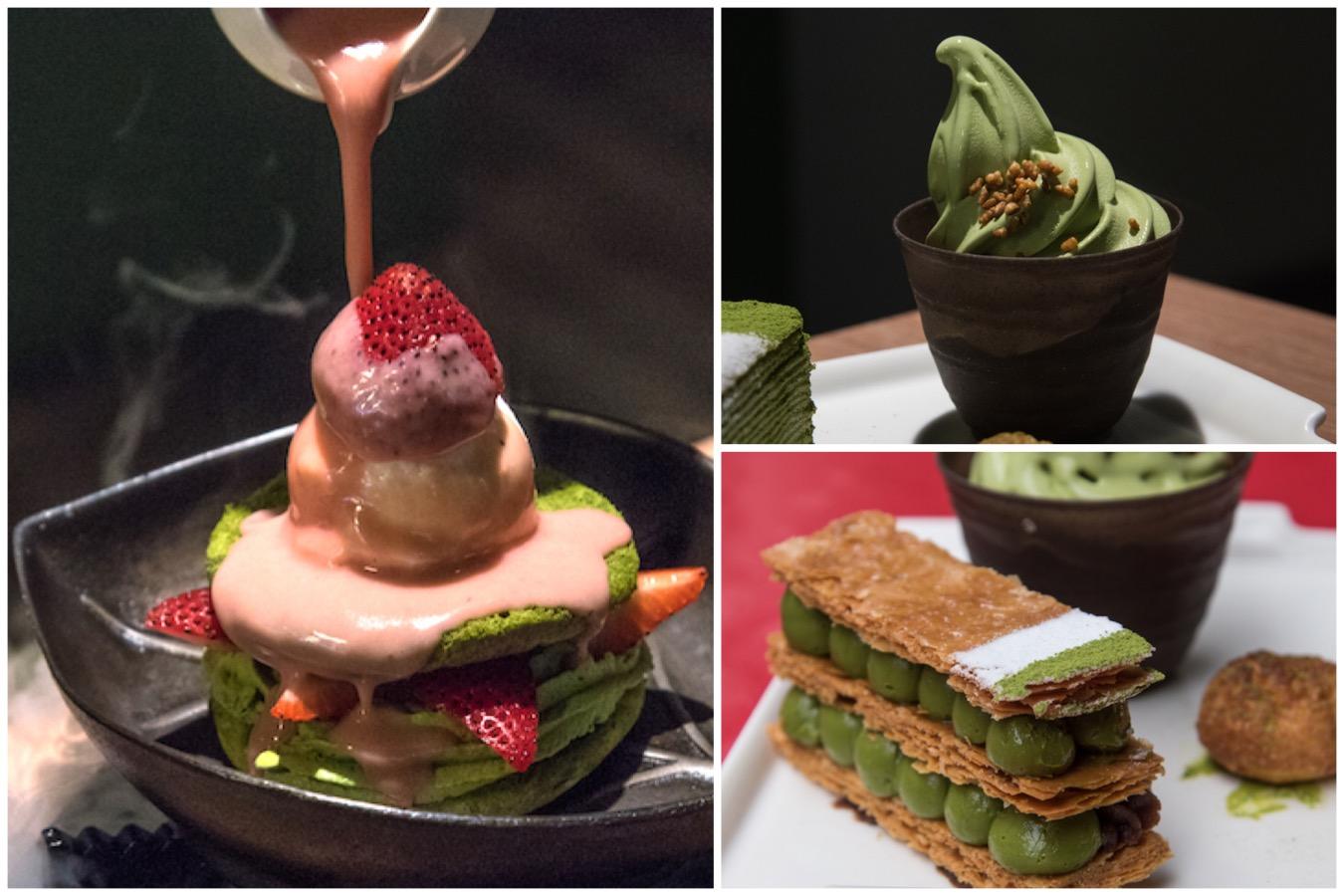 Myowa Japanese Sweet Cafe 和茗甘味處 - Matcha Paradise in Taipei. From Tiramisu, Softserve to Sizzling Hot Plate