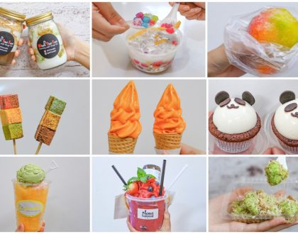8 Stalls Of Instagrammable Sweet Treats At The Seletar Mall - Raclette Cheese Churros, Rainbow Ruby, Thai Milk Tea Softserve, Ondeh Ondeh Muah Chee
