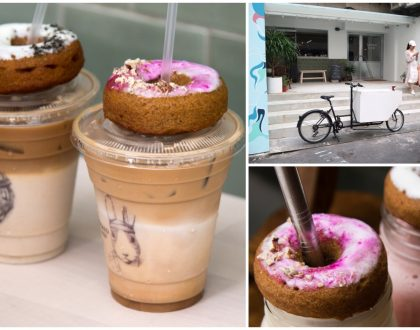 Tamed Fox X Hooked To Go - Hot NEW Café At Taipei, Healthy Donuts On Latte