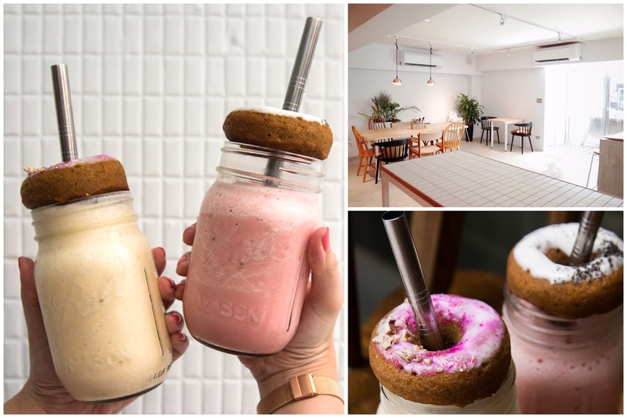 Tamed Fox - Taipei Cafe Known For Healthy Food, Desserts And Donuts On Latte, At Ren'ai Road