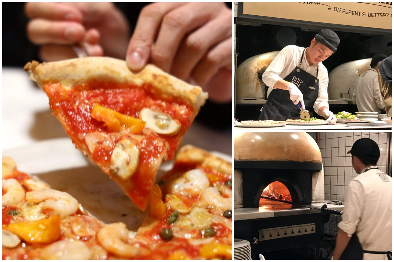 800 Degrees Neapolitan Pizzeria - Oishii Customised Pizzas Cooked In 90 Seconds, At Shinjuku Tokyo