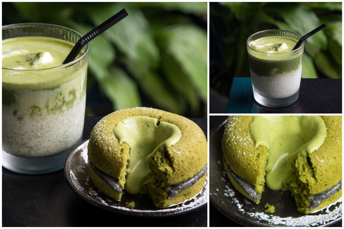 La Chaudière Coffee 樂初咖啡 - Matcha Cake With Overflowing Matcha Sauce In Taipei