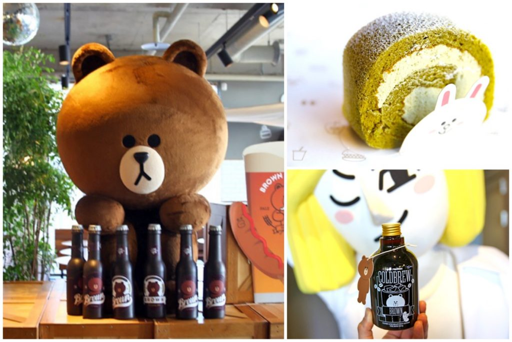 Line Friends Flagship Store Amp Caf 233 The Largest Line