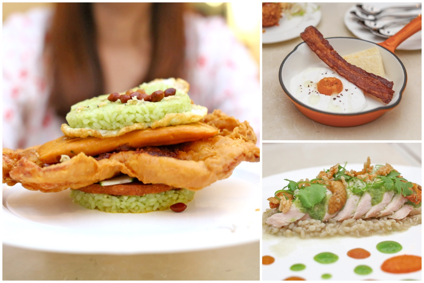 Antoinette - NEW Dishes With Local Spin. XXXL Nasi Lemak Burger, Hakka Gnocchi, And Salted Egg Cake