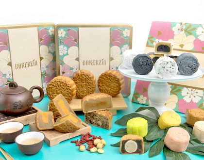 Bakerzin - Limited Edition Tom Yum and Sakura Ebi Mooncakes. Snowskin Yuzu, Durian And Black Sesame, Anyone?