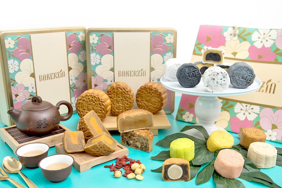 Bakerzin - Limited Edition Tom Yum and Sakura Ebi Mooncakes. Snowskin Yuzu, Durian And Black Sesame, Anyone?