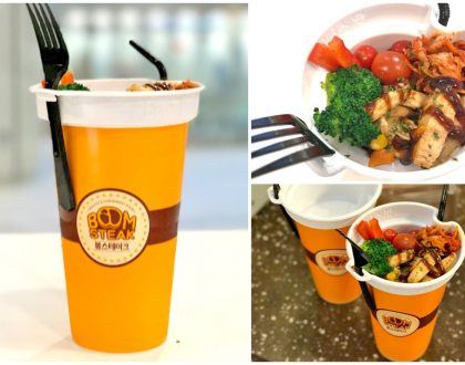 [Closed] Boom Steak – Korean Food-On-Cup, Steak With Drink Concept At The Centrepoint. Can Work Here?