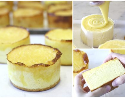 BreadTalk - The 1st Crater Cheese Honey Cake In Singapore. So Soft & Fluffy, Limited Quantity Available