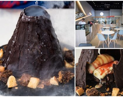 Fro Roll - Ice Cream Dessert Cafe With Volcanic Avalanche At Potong Pasir, By Campus Superstar Alumni Keely Wee