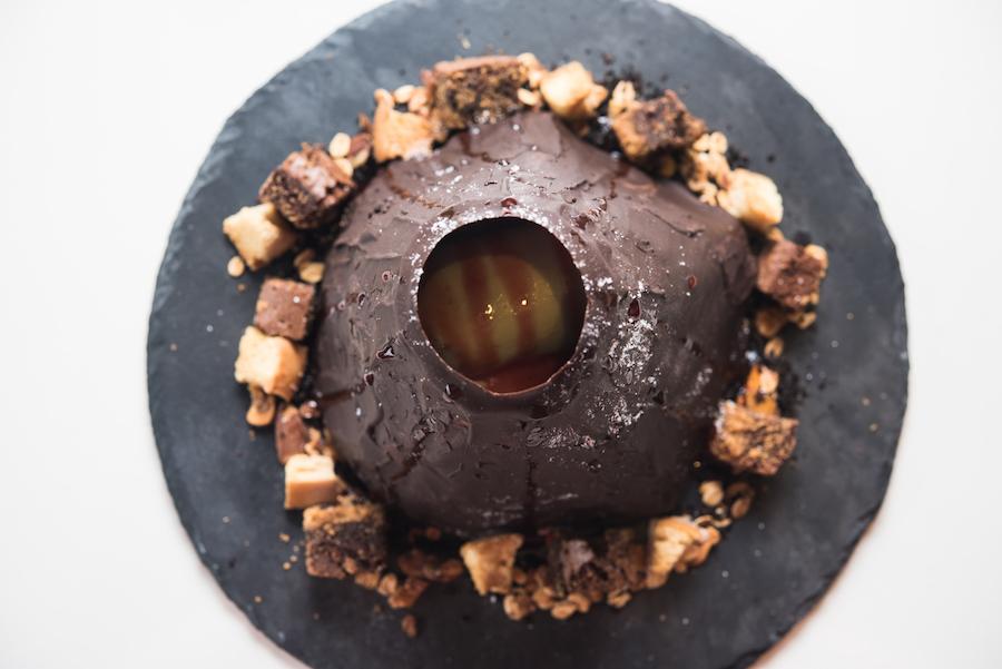 Kinder Chocolate Lava Cake