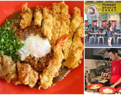 Fujiyama Dragon Curry - Japanese Curry Restaurant From Hiroshima Opens In Singapore. BIG Portions