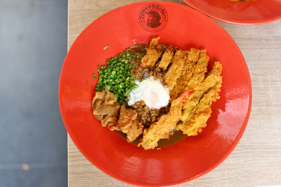 Fujiyama Dragon Curry – Japanese Curry Restaurant From Hiroshima Opens In Singapore. BIG Portions