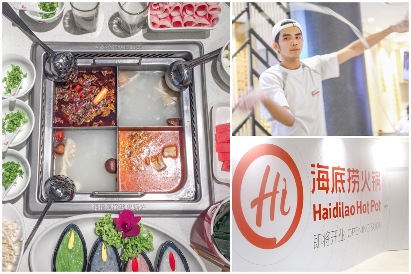 Hai Di Lao 海底捞 - Popular Chinese Hotpot Restaurant Opening At Plaza Singapura. One More In Orchard Road