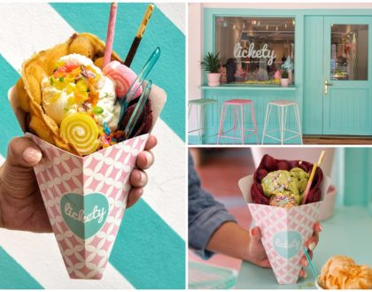 Lickety Ice Cream & Waffles – Insta-worthy Egglet Desserts, From Muslim-Owned Ice Cream Shop At Bussorah Street