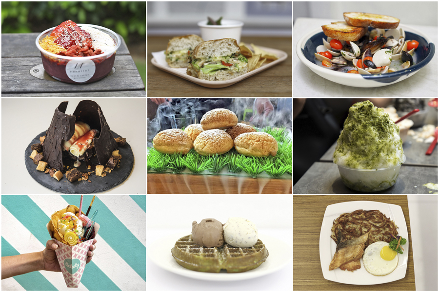 10 NEW Cafés In Singapore September 2017 - Mao Shan Wang, Ice Cream Rolls, Kakigori Cafés