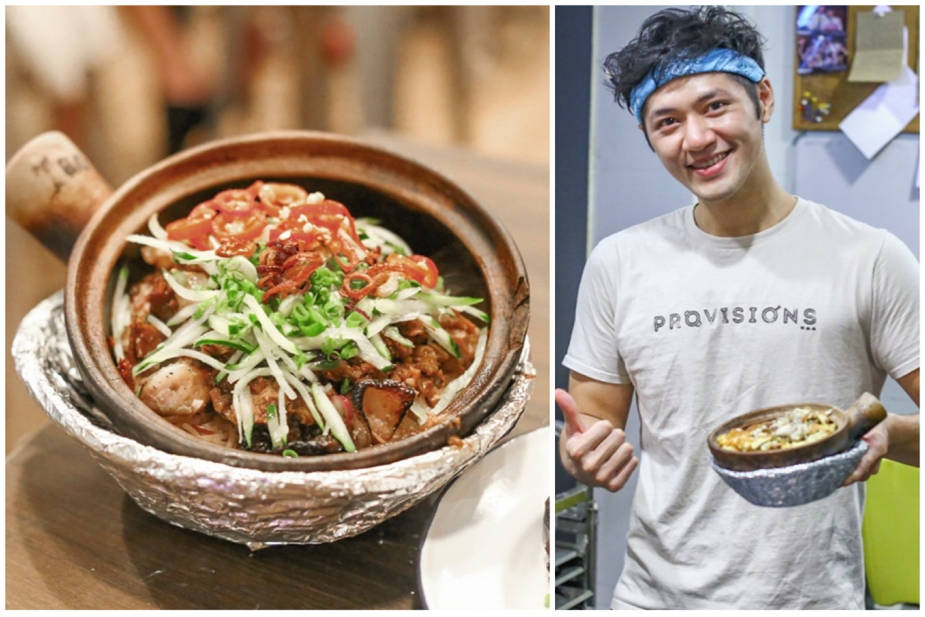 Provisions - Singapore's 1st Claypot Rice & Skewers Bar At Dempsey, With A Good-Looking Chef By The Way