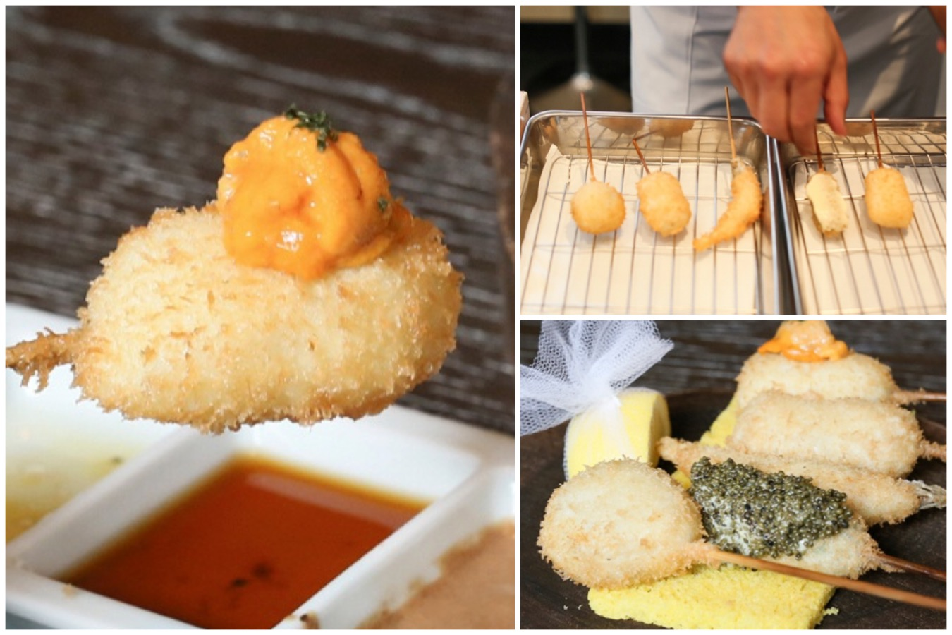 Ginza Rokukakutei - Experience Japan's 1 Michelin Starred Kushiage From $36.50, At Odeon Towers
