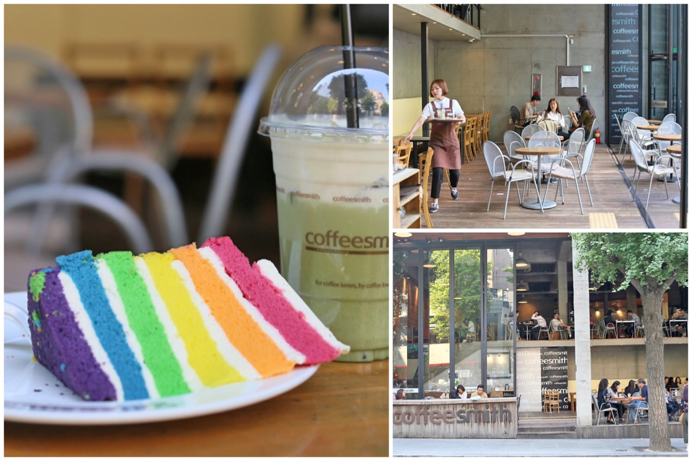 Coffeesmith – Gorgeous Space With Great Vibes, Coffee Place To People-Watch At Garosugil Seoul