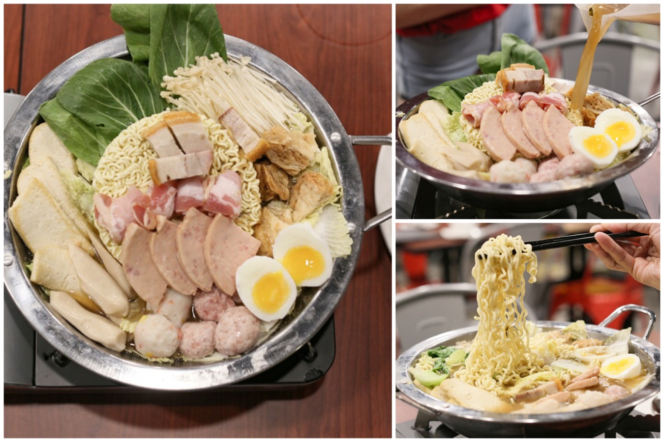 "Jin Ho Mia - ""The Good Life"" Hotpot With Flavourful Soup, Seafood, Sio Bak And Instant Noodles"