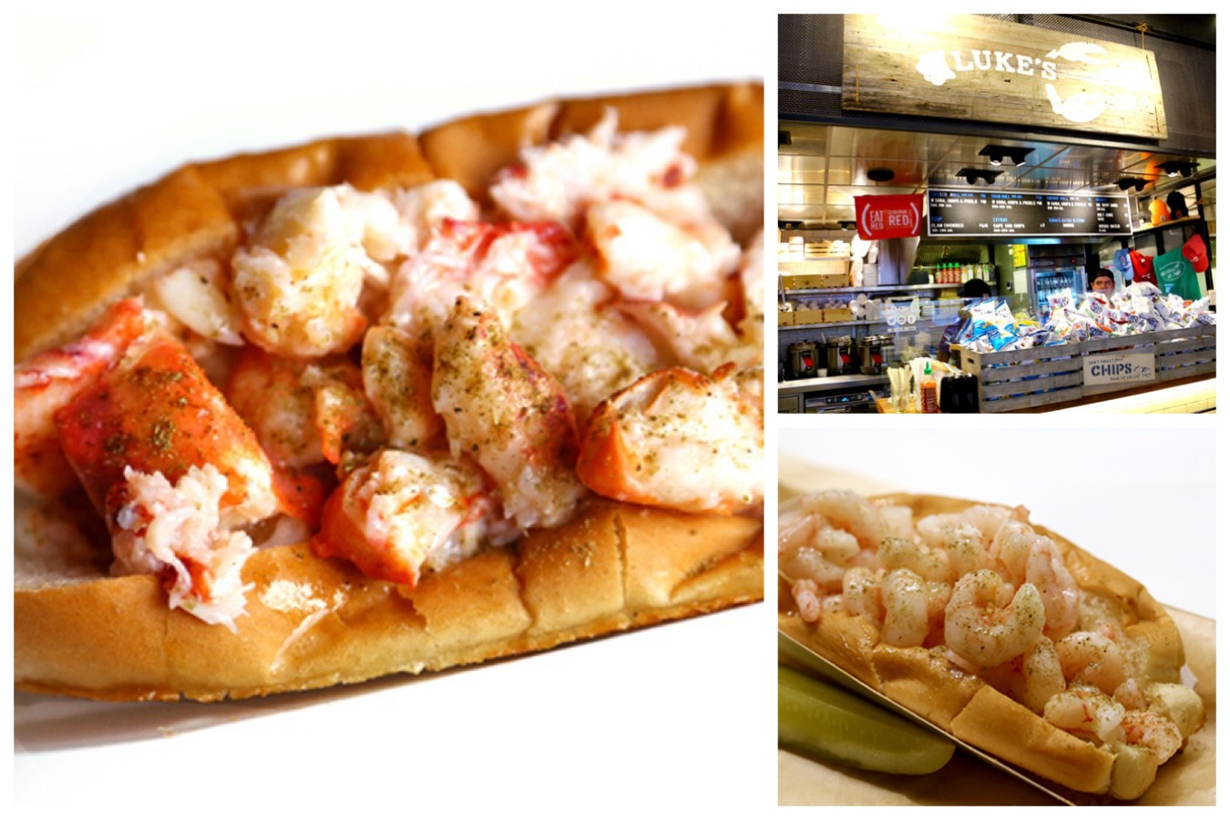 Luke's Lobster - Lobster Roll Paradise At New York City. Just Look At Those Chunks Of Lobster