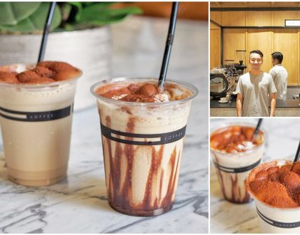 Omotesando Koffee - Famed Coffee Place From Japan Opens In Singapore At Downtown Gallery. Look Out For Bubble-capped Iced Cappuccino and Iced Mocha