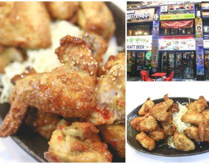 """Oppadak - Korean """"Fried"""" Chicken That Is Baked. Chimaek For Supper At Myeongdong, Seoul"""
