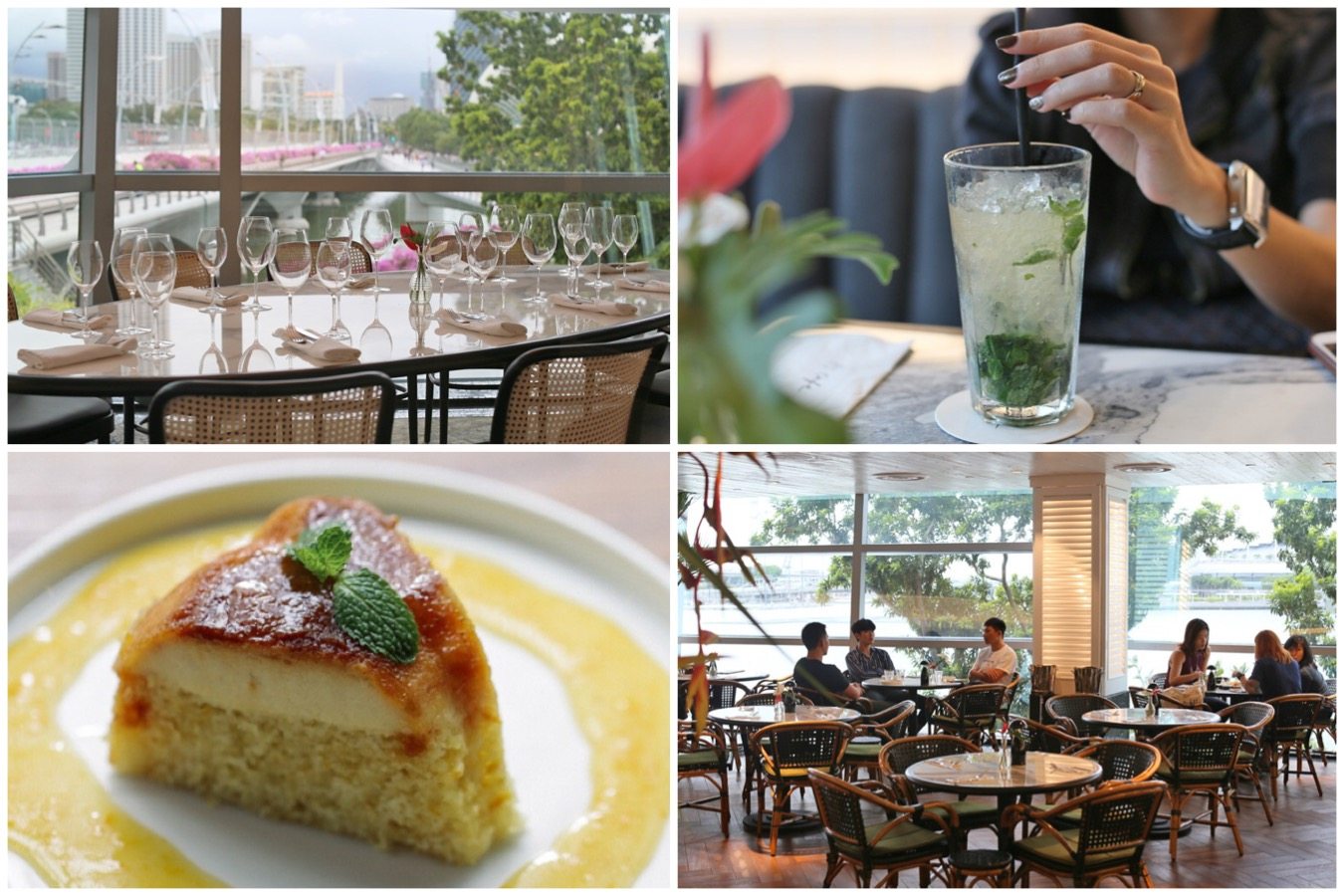 PS.Cafe One Fullerton – Gorgeously Chio With Waterfront View. Really About The Ambience