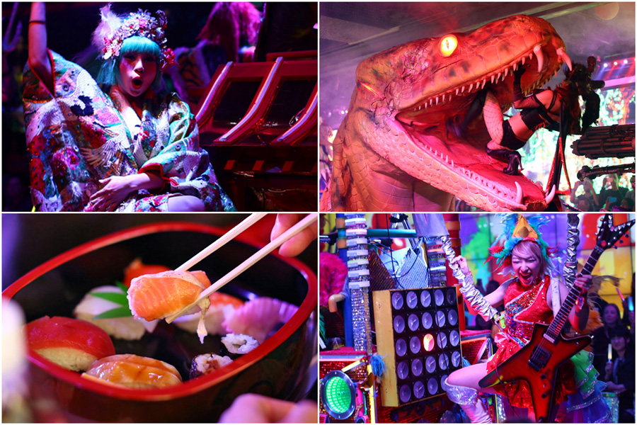 Robot Restaurant - DFD Special 36% OFF. Most Bizarre 'Restaurant' In Tokyo With Dancing Girls And Robots