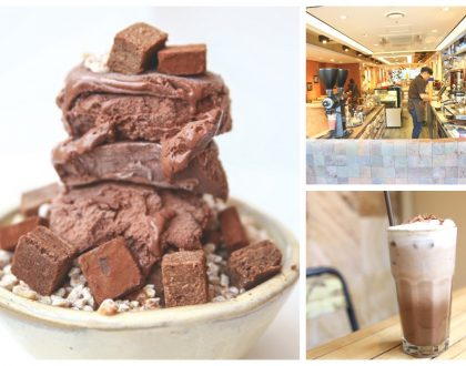 Cacao Green 카카오그린 - Triple Chocolate Bingsu And Delicious Hot Chocolate Drinks, At Myeongdong Seoul