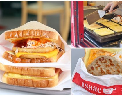 Isaac Toast - The Most Popular Korean Breakfast Toast In Seoul. Also At Johor Bahru Paradigm Mall