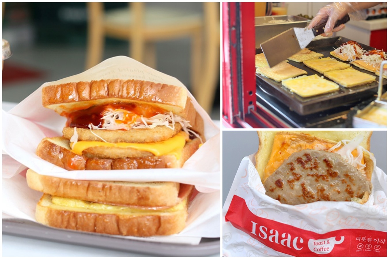 Isaac Toast The Most Popular Korean Breakfast Toast In Seoul Also