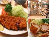 Tonkatsu Tonki - Famous Japanese Pork Cutlet Institution With An Open Kitchen Concept, At Meguro River