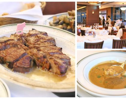 Wolfgang's Steakhouse - Famed Steak Restaurant From NYC In Singapore. Quality Meats And Impeccable Service